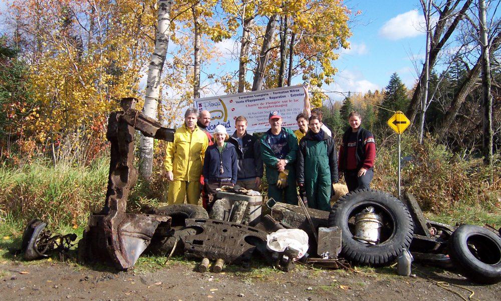 Rivière Magog, Magog, 2004