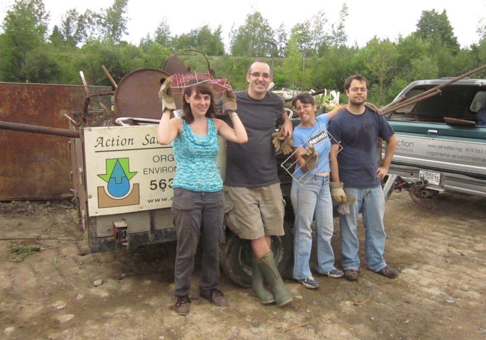 Marais de la rivière aux Cerises, Magog, 2012, avec Basta Communications