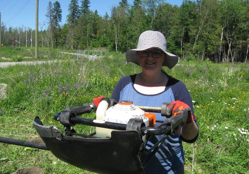 Marie Catherine Gosselin, assistante-terrain en 2018