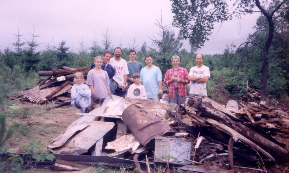 Ruisseau Key, Sherbrooke, 1999