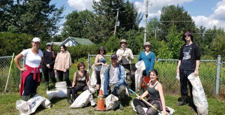 Ruisseau Mi-Vallon, Sherbrooke, août