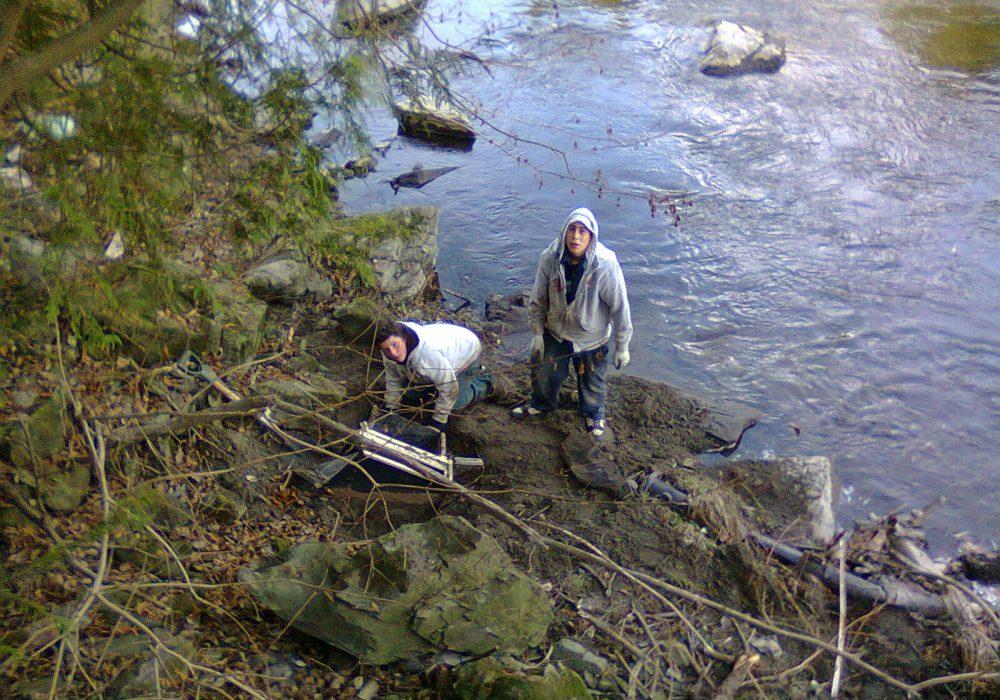 Rivière aux Saumons, Cookshire-Eaton, 2011